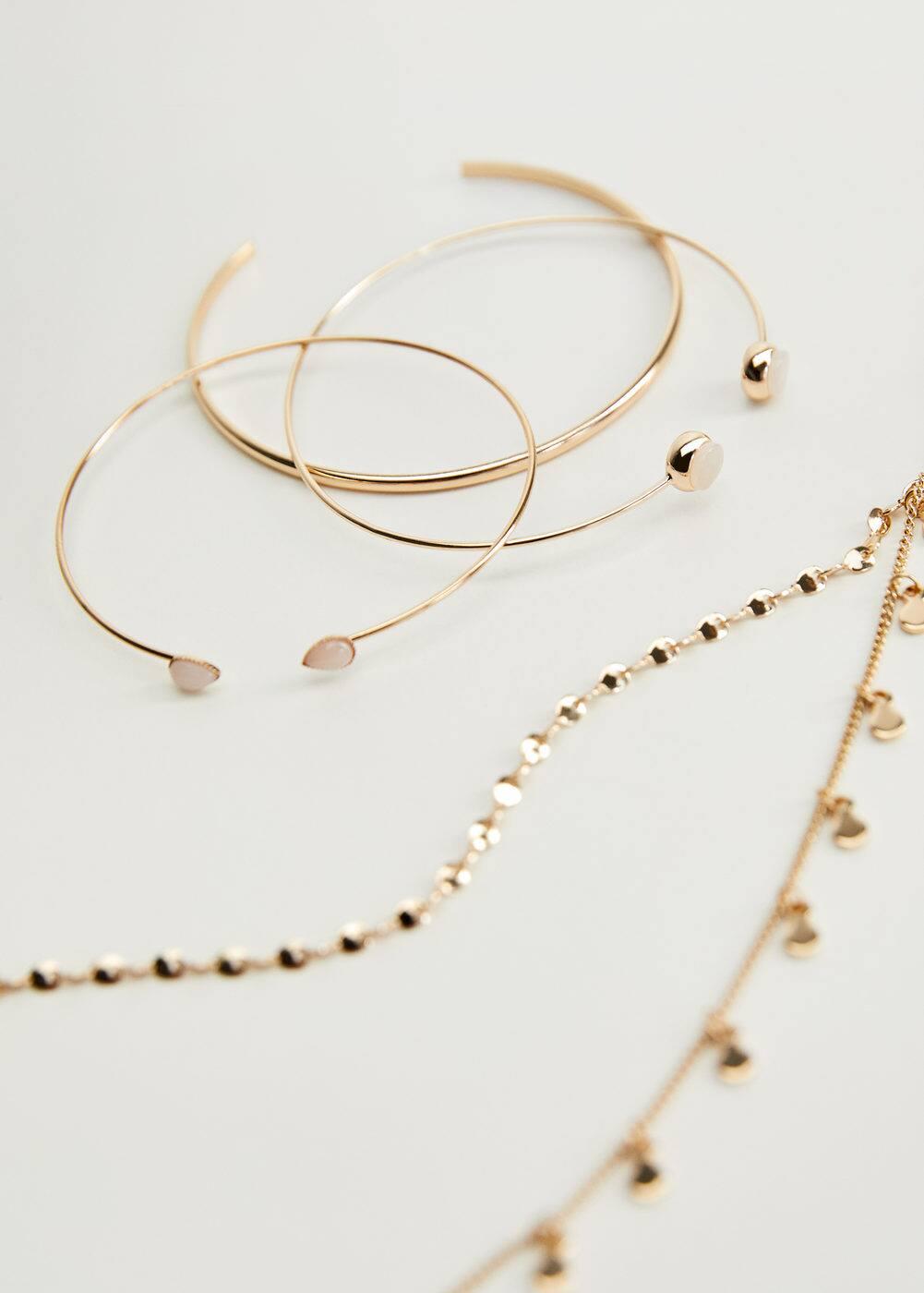 Set Bracelets De Perles by Mango