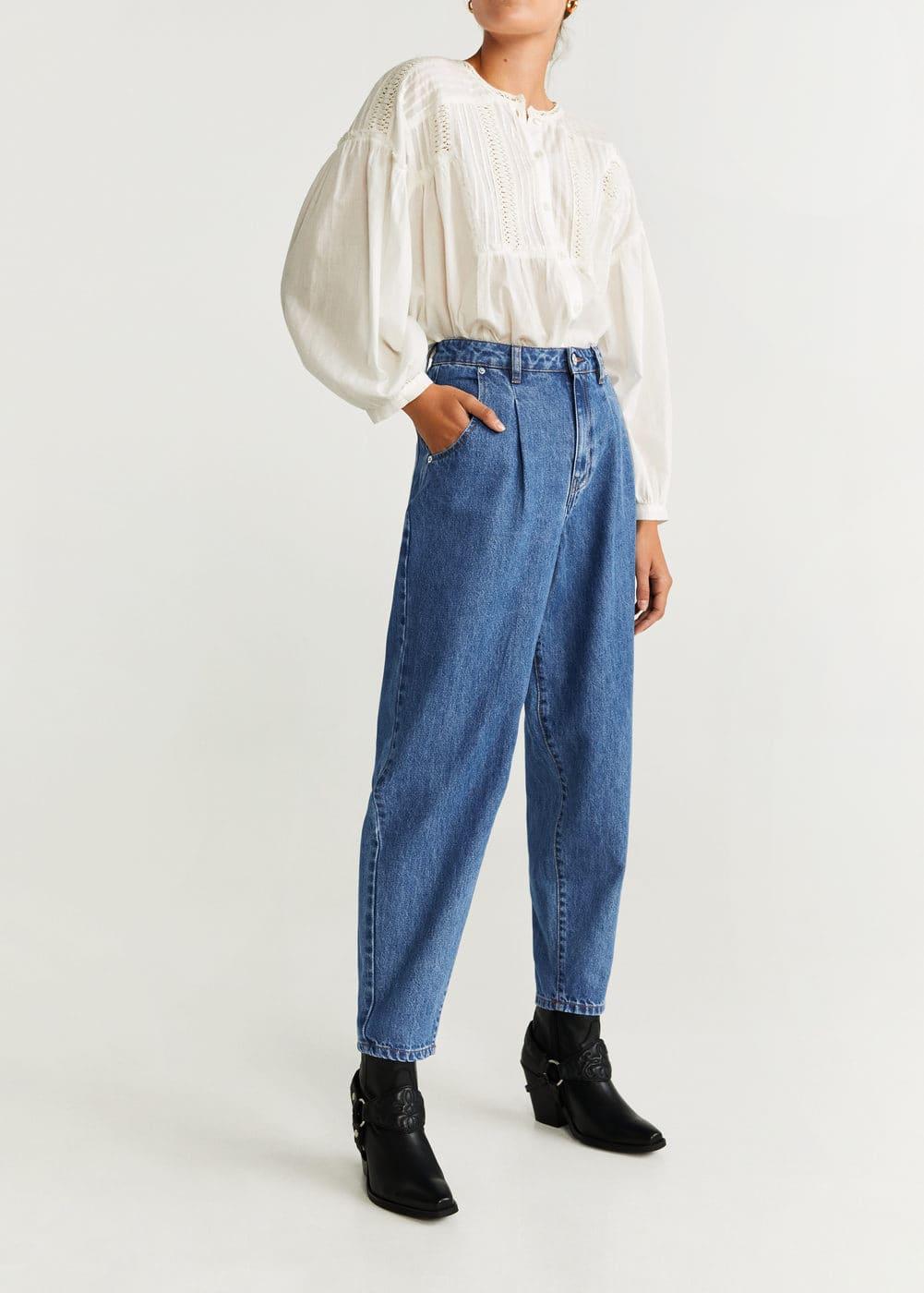 Jeans Baggy Regina by Mango