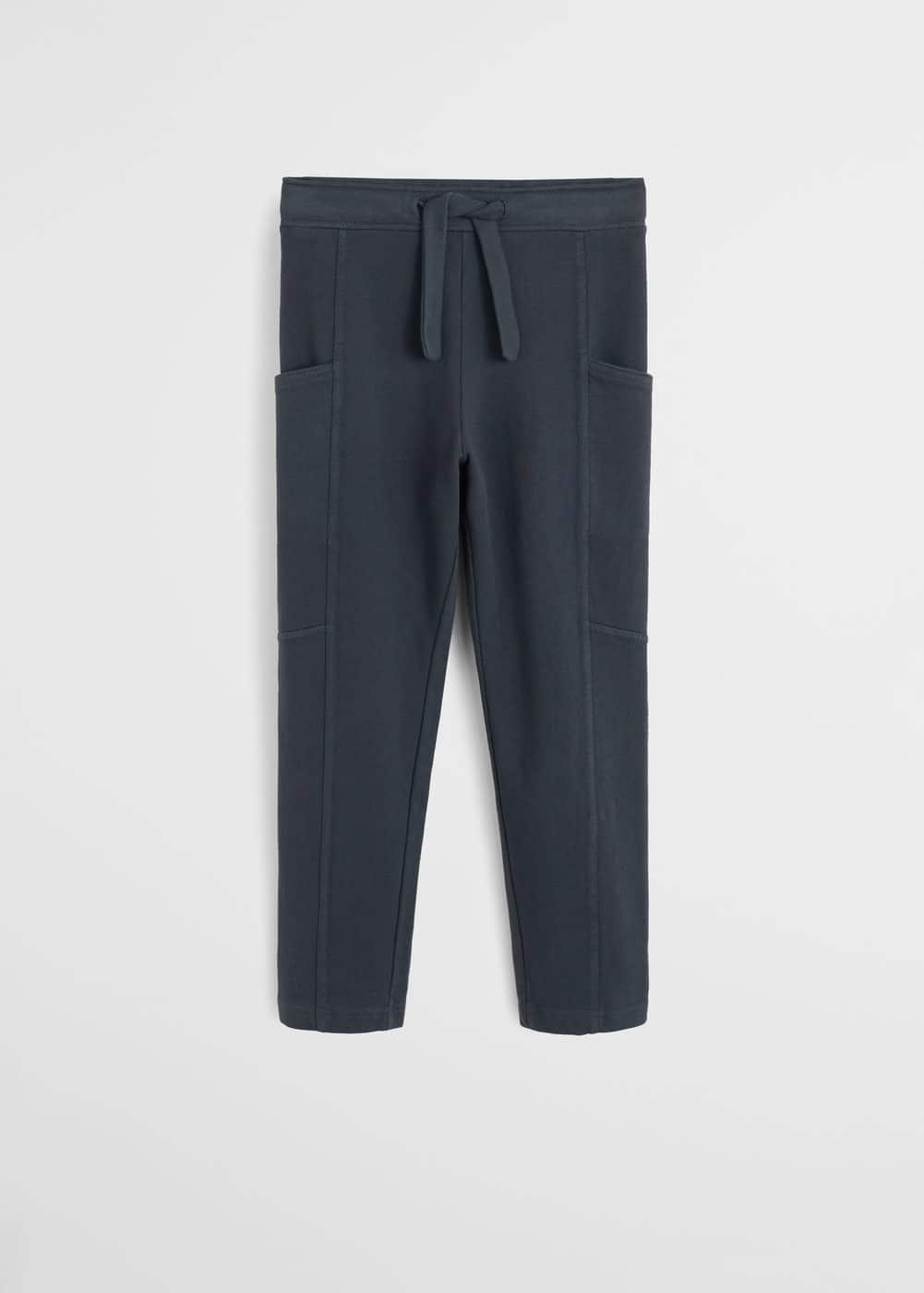 a-barna:pantalon algodon bolsillos