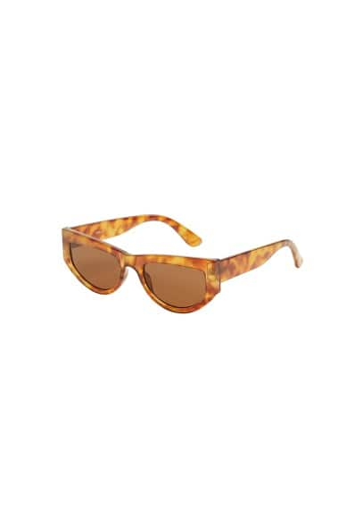mango - Schildpatt-sonnenbrille retro-stil