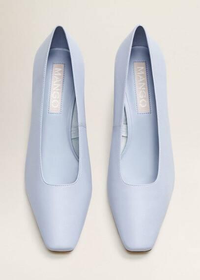 Mango Кожаные туфли на каблуке - Mela