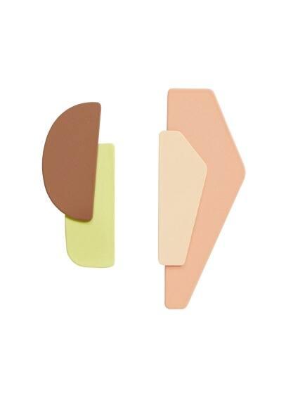 mango - Geometrische ohrringe