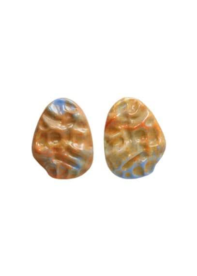 mango - Ohrhänger aus kunstharz