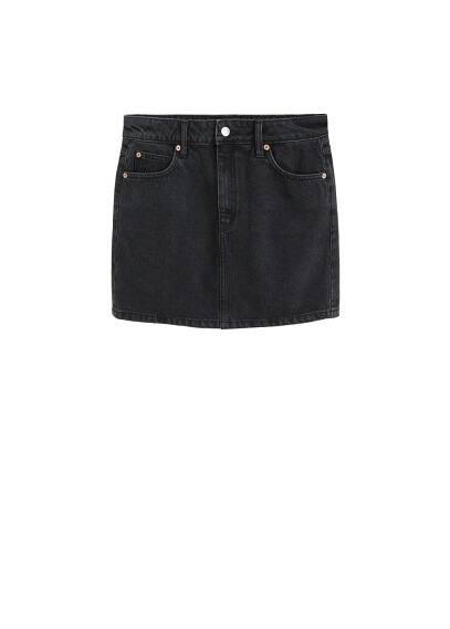 mango - Mini-rock aus jeans