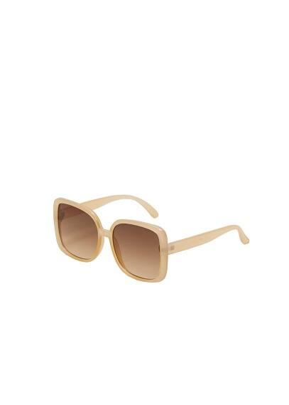 mango - Sonnenbrille mit azetatfassung