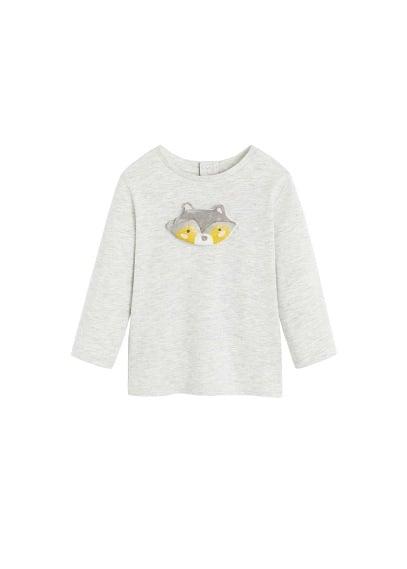 T-shirt détail oiseau