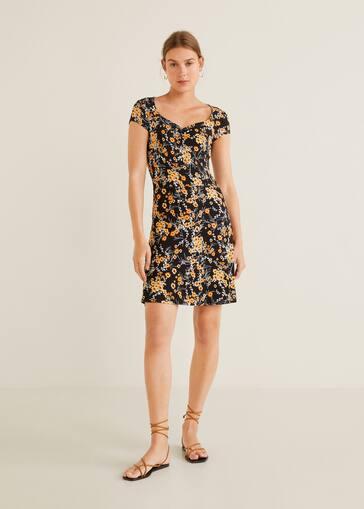 5e475639d4 Sukienka z kwiatowym wzorem - Plan ogólny
