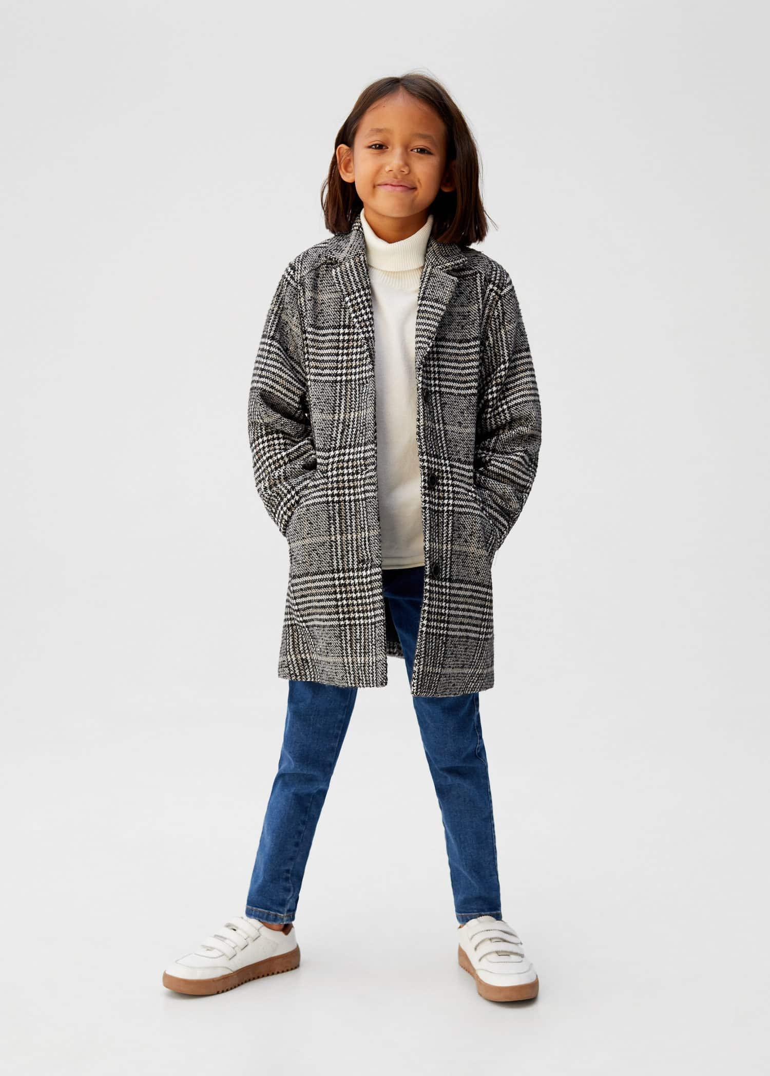 brand new 7e884 48de0 Cappotti da Bambina 2019 | Mango Kids Italia