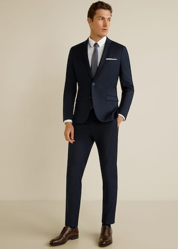 879767791ee6 Super slim-fit suit pants - General plane