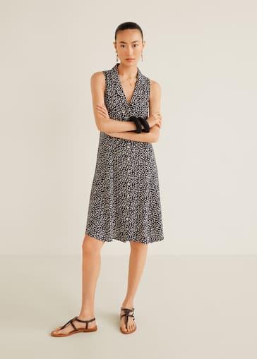 ddff0c01a7 Koszulowa wzorzysta sukienka - Plan ogólny
