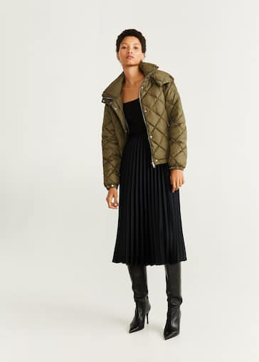 prix favorable riche et magnifique joli design Manteau pour Femme 2019 | Mango France