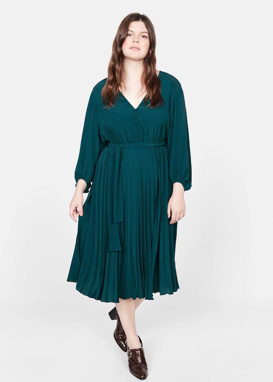 Midi - Dresses Plus sizes 2019 | Violeta by Mango The ...