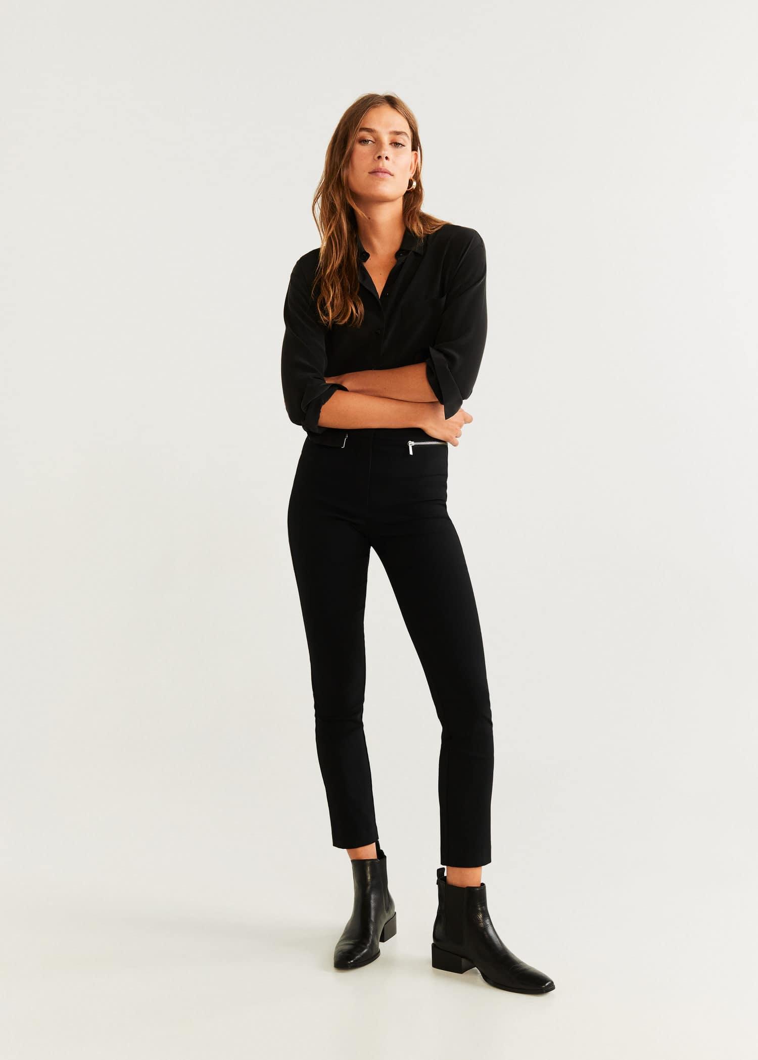 meilleure sélection prix abordable New York Pantalon pour Femme 2019 | Mango France