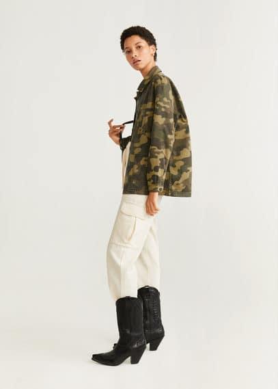 Куртка с камуфляжным принтом - Worker