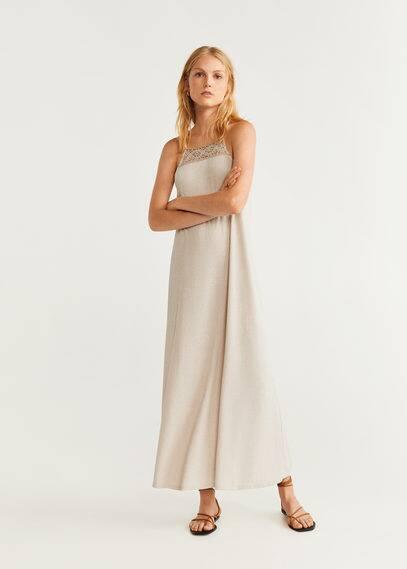 Трикотажное платье в резинку - Susi