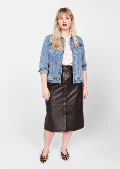 Джинсовая куртка с карманами - Sarah от Mango