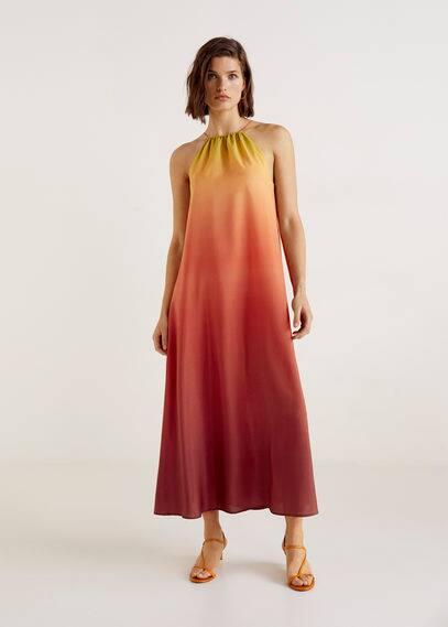 Tie-dye kleid