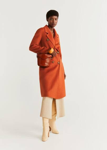 Структурированное пальто из шерсти - Robert от Mango