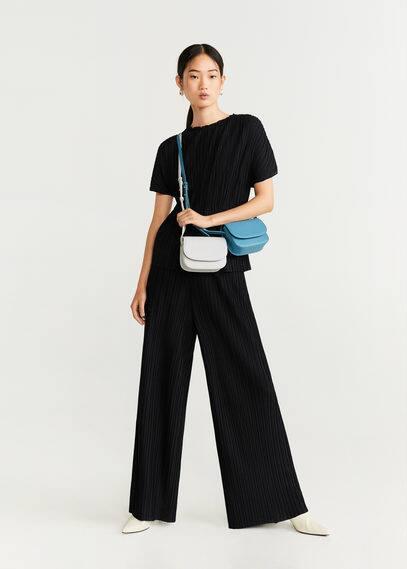 Струящиеся плиссированные брюки - Plipant