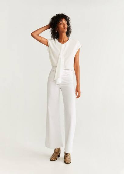 Блузка с драпировкой - Matisse от Mango