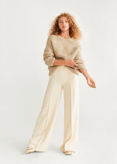 mango - Grobstrick-pullover