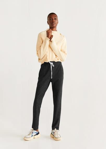 Kırçıllı jogger pantolon