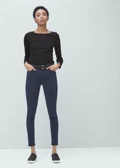 Jeans skinny taille haute mango