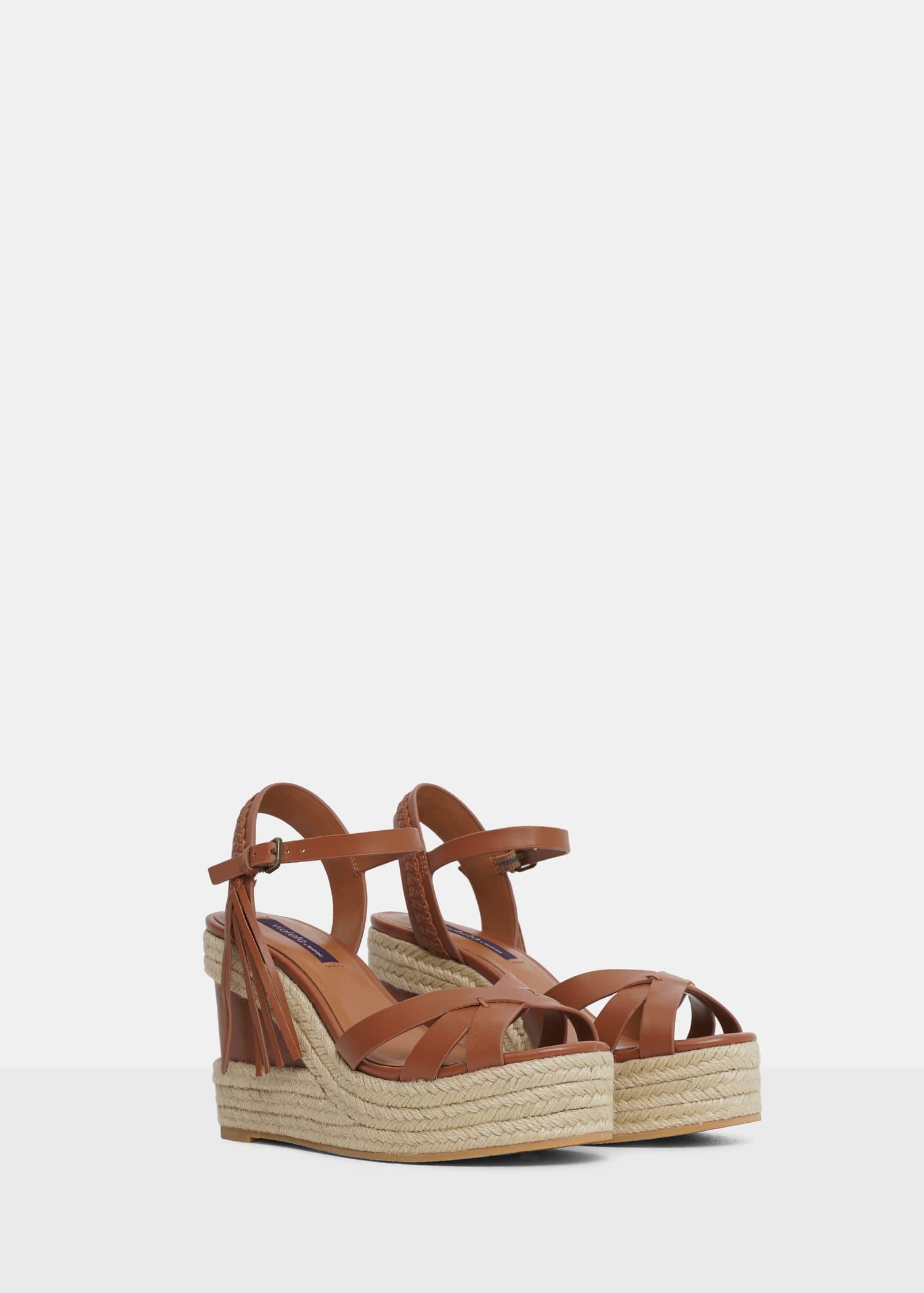 Sandales lanières plateforme Grandes tailles   OUTLET