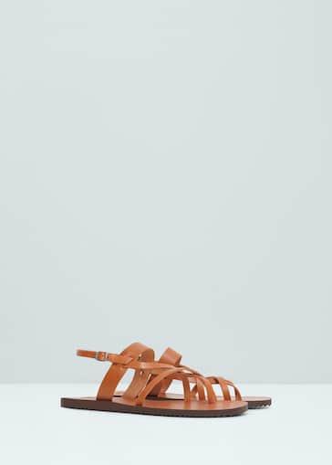 7299fdc56 Leather gladiator sandals - Men