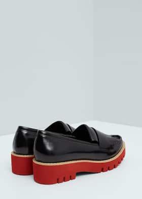 767d49d4287c Contrast platform shoes - Woman