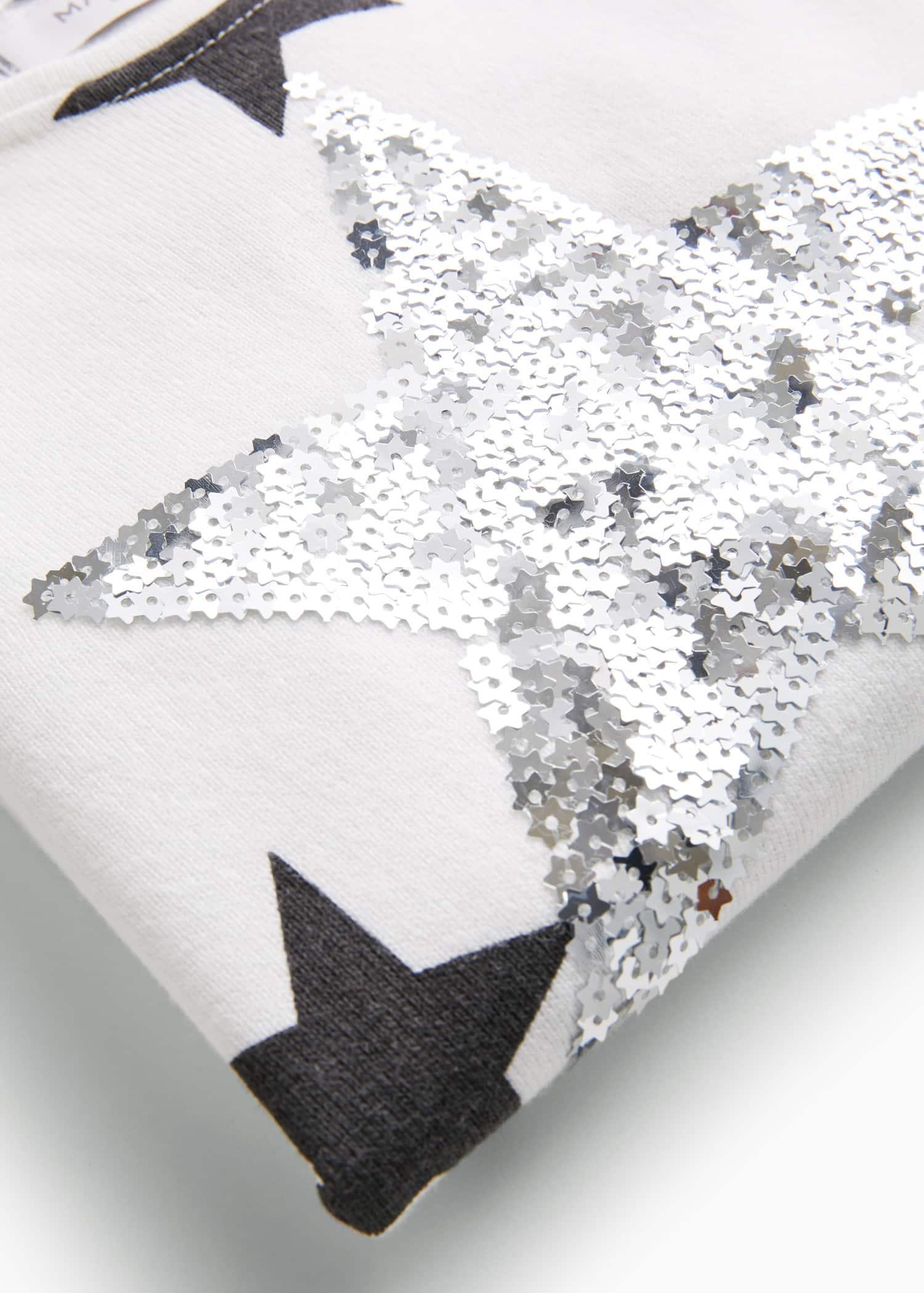 Jersey estrella lentejuelas Niña | OUTLET España