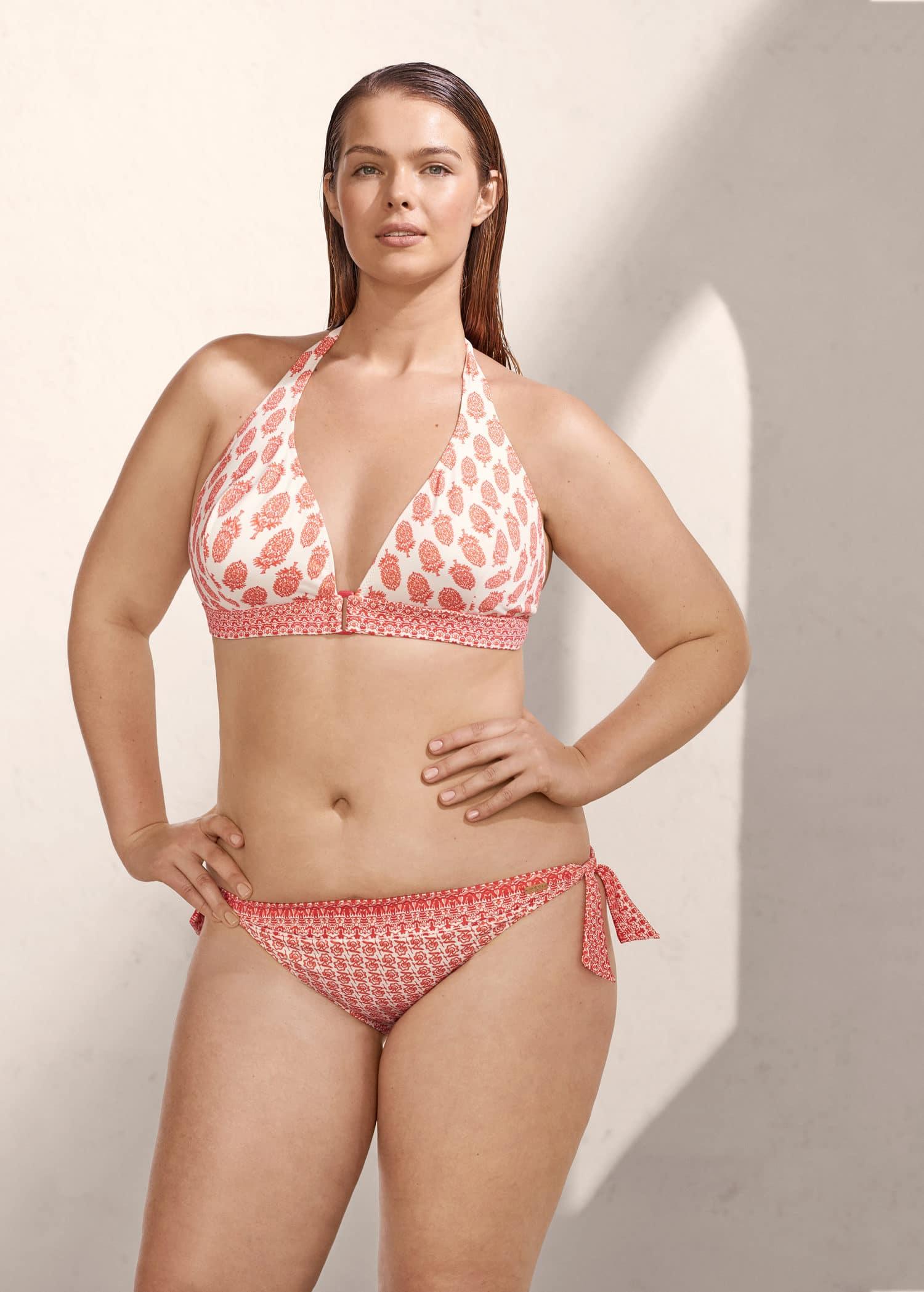 Mango Tropical Print Plus Bikini Kingdom United SizesVioleta By L5ARj4