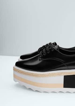 e4e1ad61d3e6 Contrast platform shoes - Women