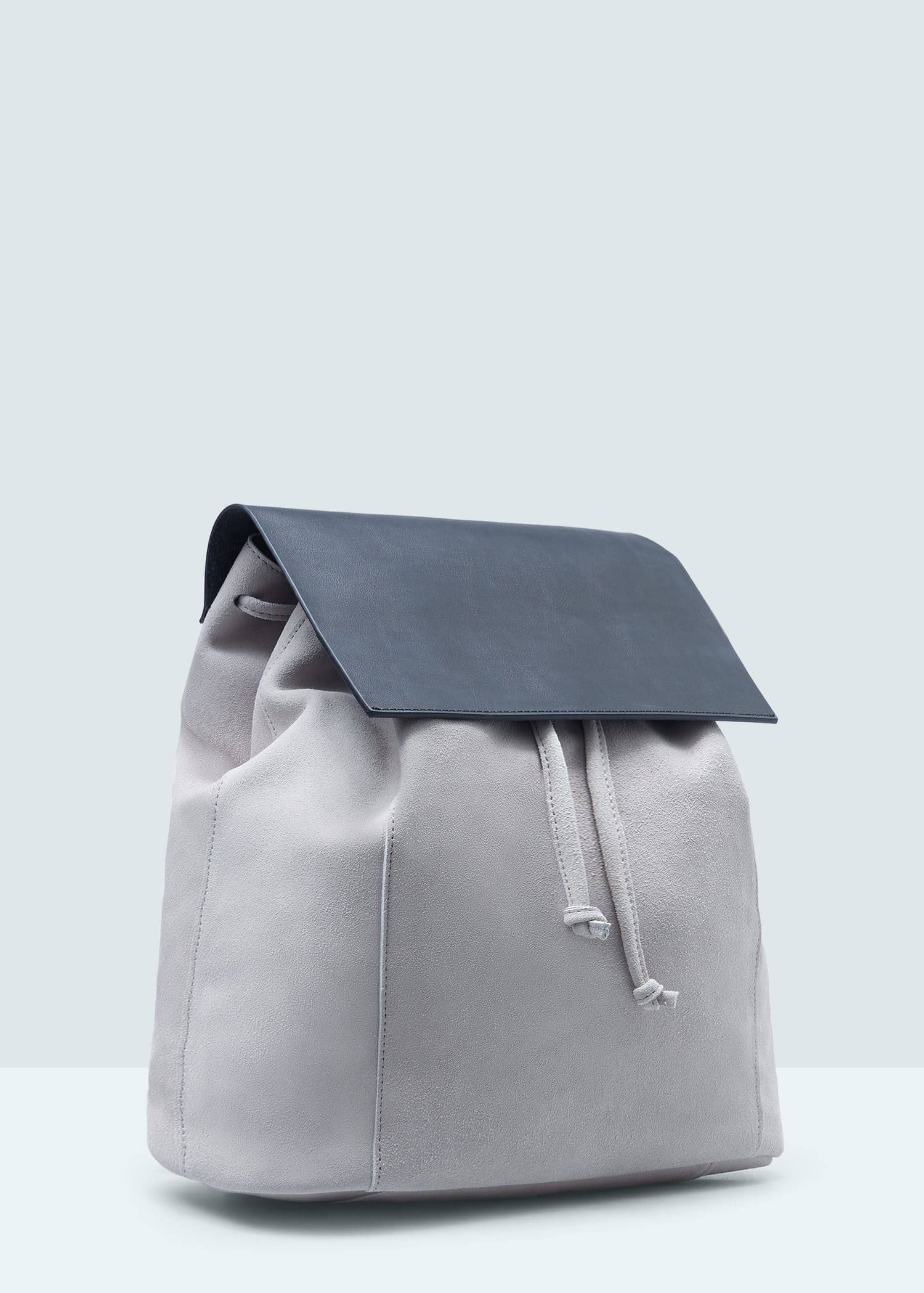 Lapel Lapel leather backpack leather H8w5qdfnd