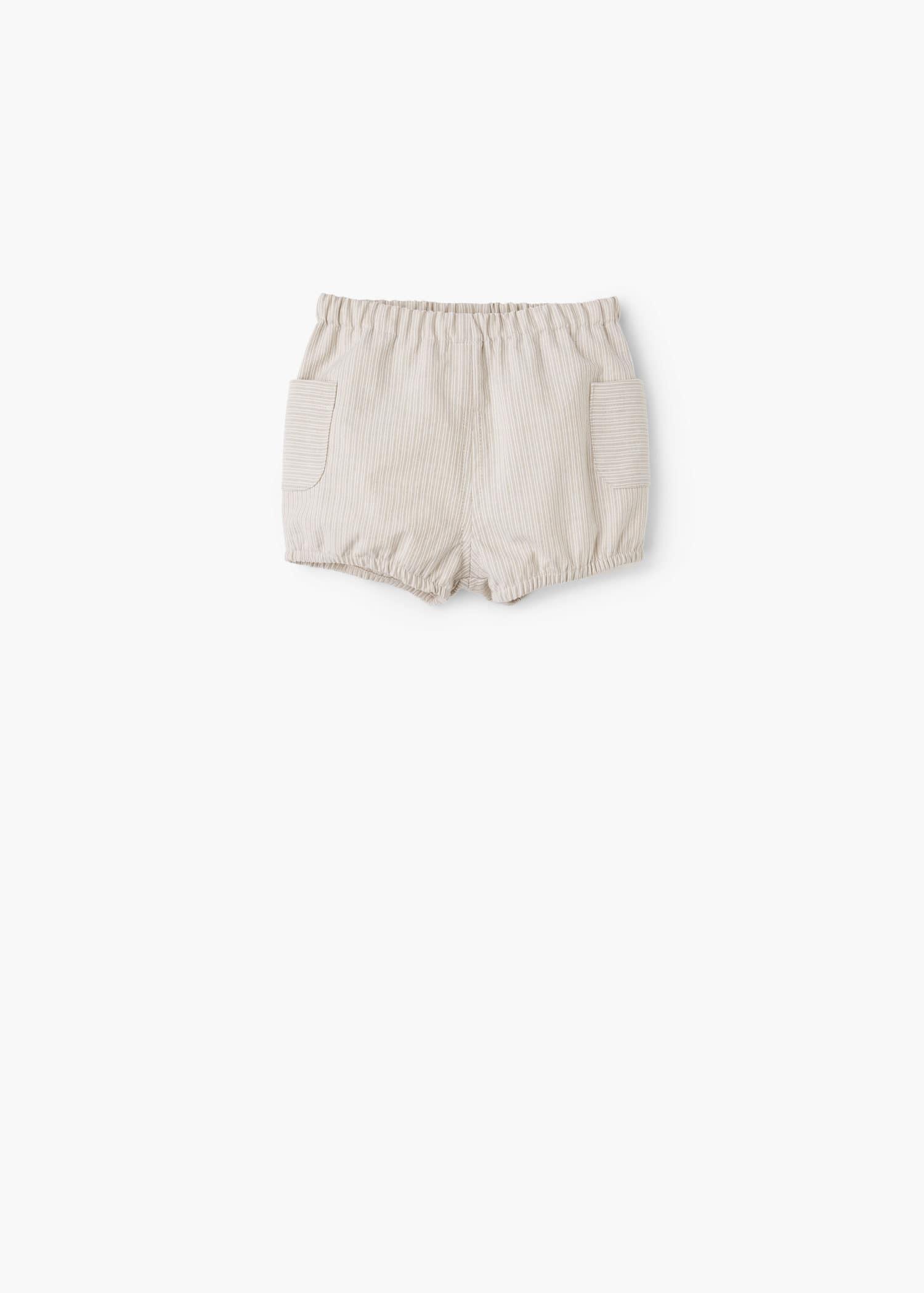 Cotton Cotton Cotton Bermuda Striped Shorts Striped Striped Shorts Bermuda 0w8PnkO