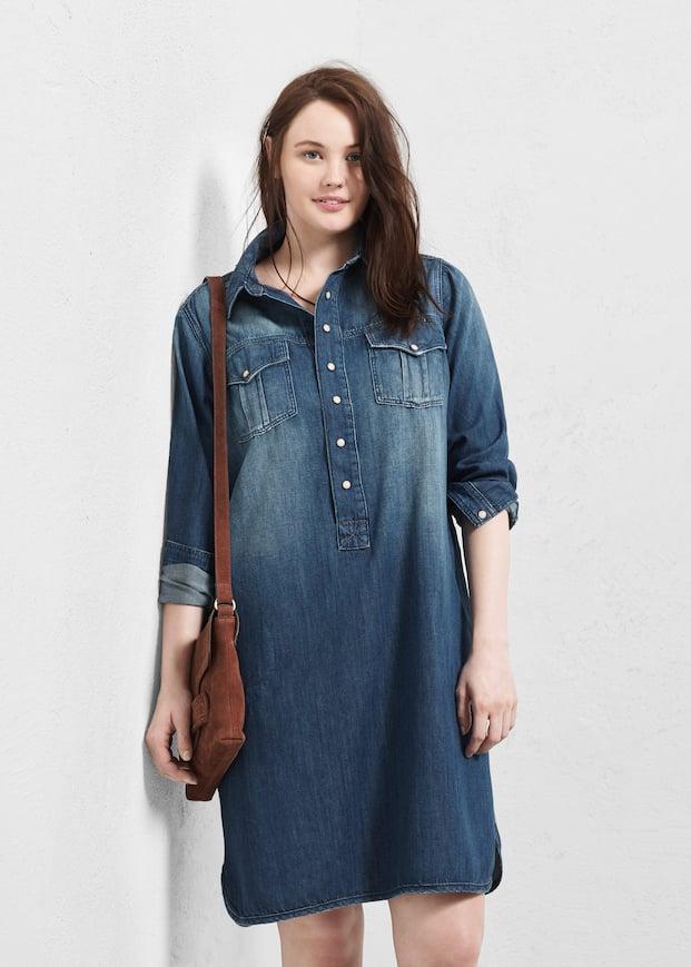 Denim Shirt Dress Plus Sizes Violeta By Mango Samoa
