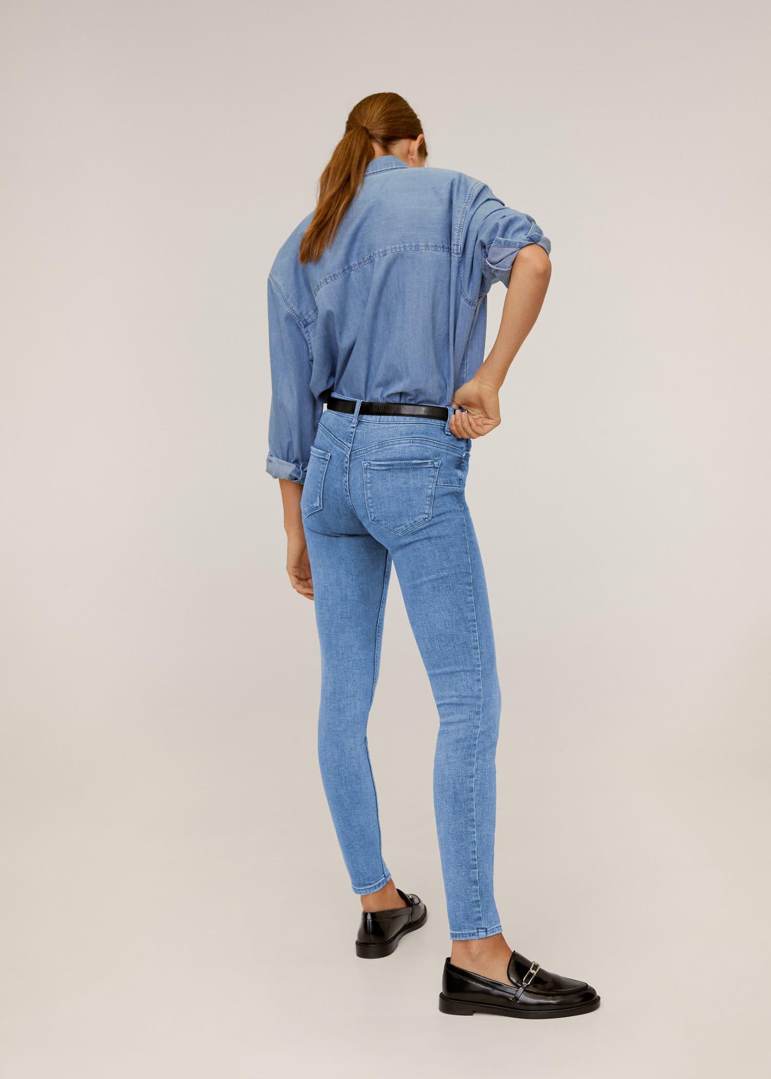 Kim skinny push up jeans Woman | Mango Croatia