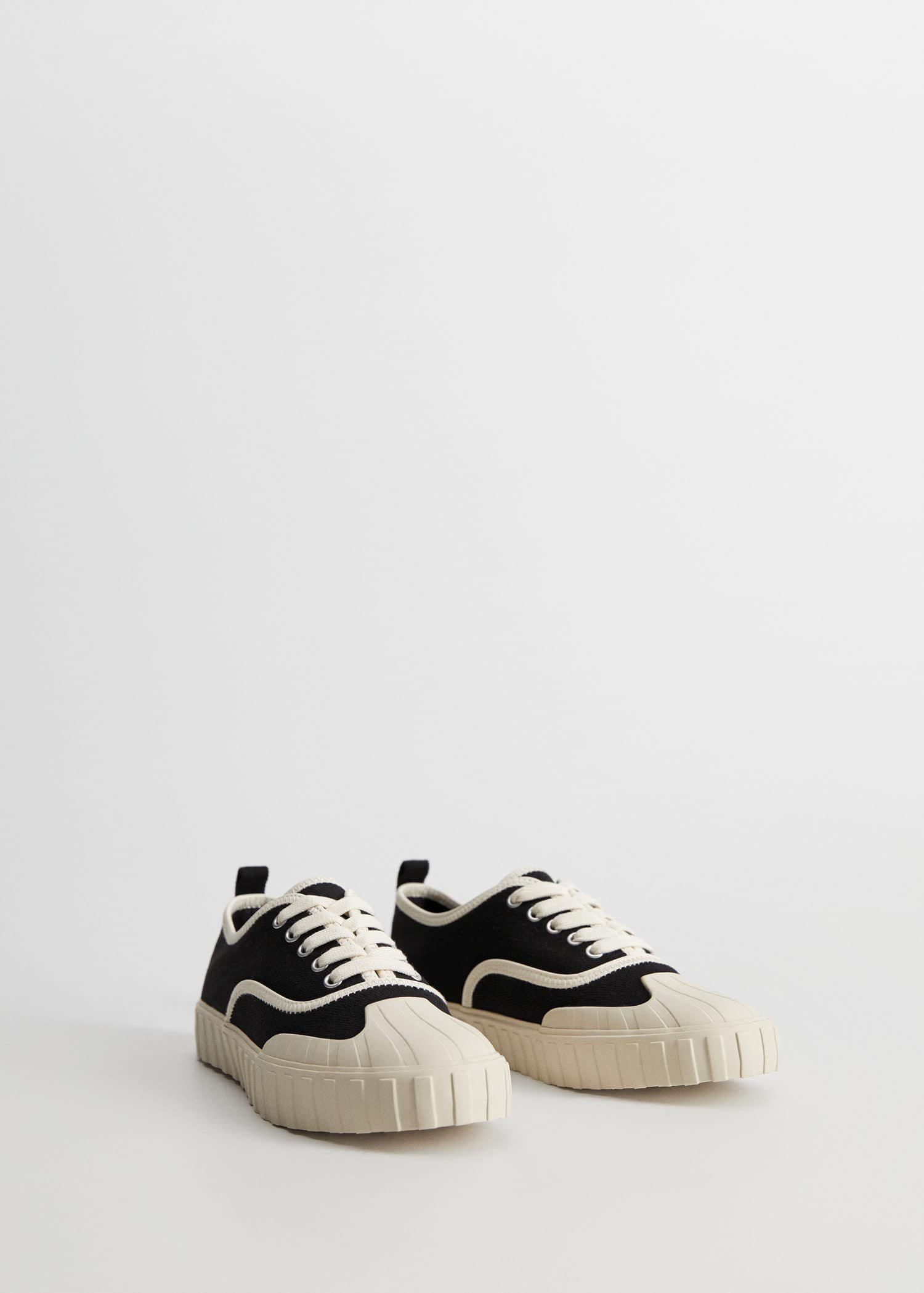 Canvas sneakers - Woman   Mango China