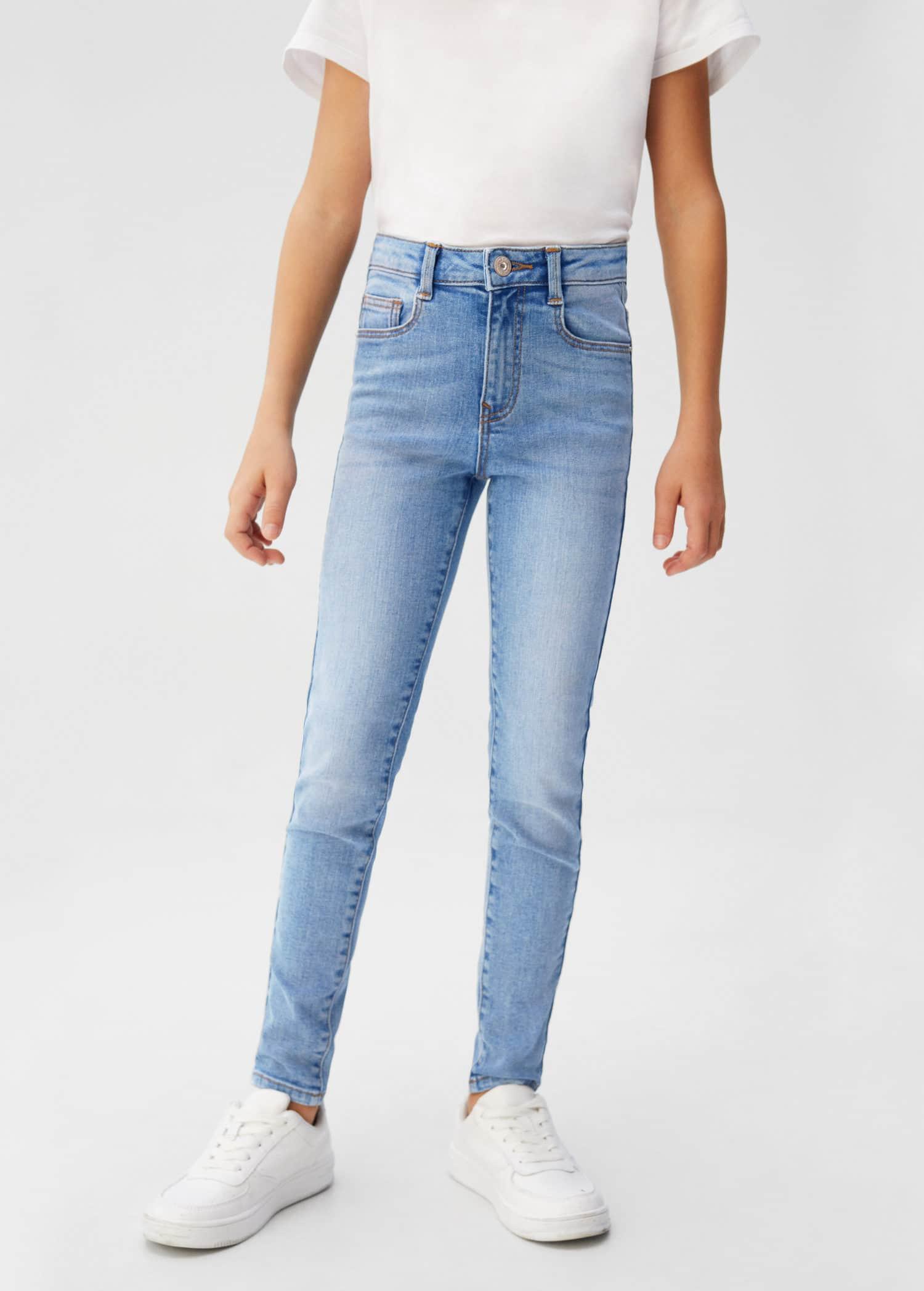 DARK TAN BROWN Low Rise Skinny Jeans Jeggings Taglia 4 6 8 10