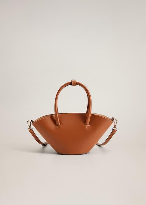 Τσάντα καλάθι μίνι διπλό χερούλι - Προϊόν χωρίς μοντέλο