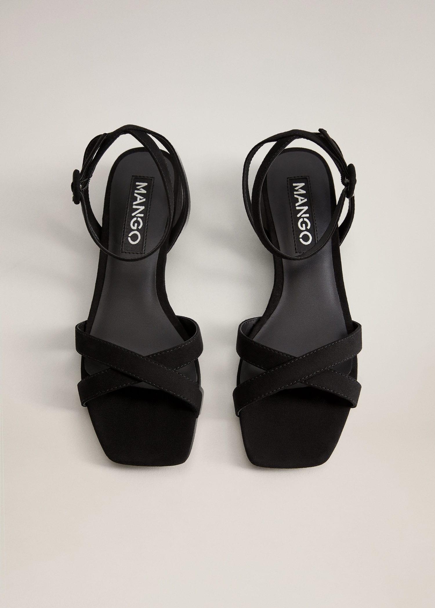 Lace-up heel sandals - Women   Mango USA