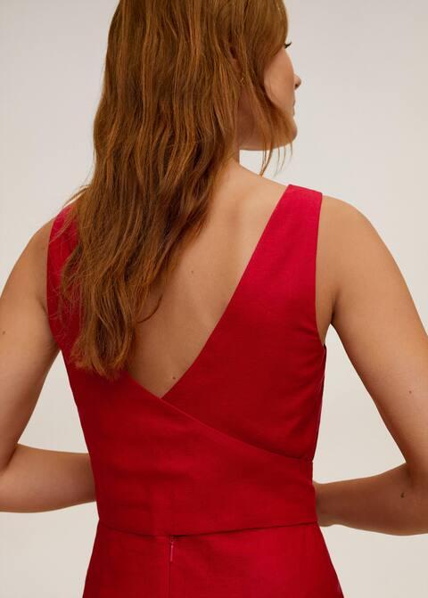Robe midi lin - Détail de l'article 4