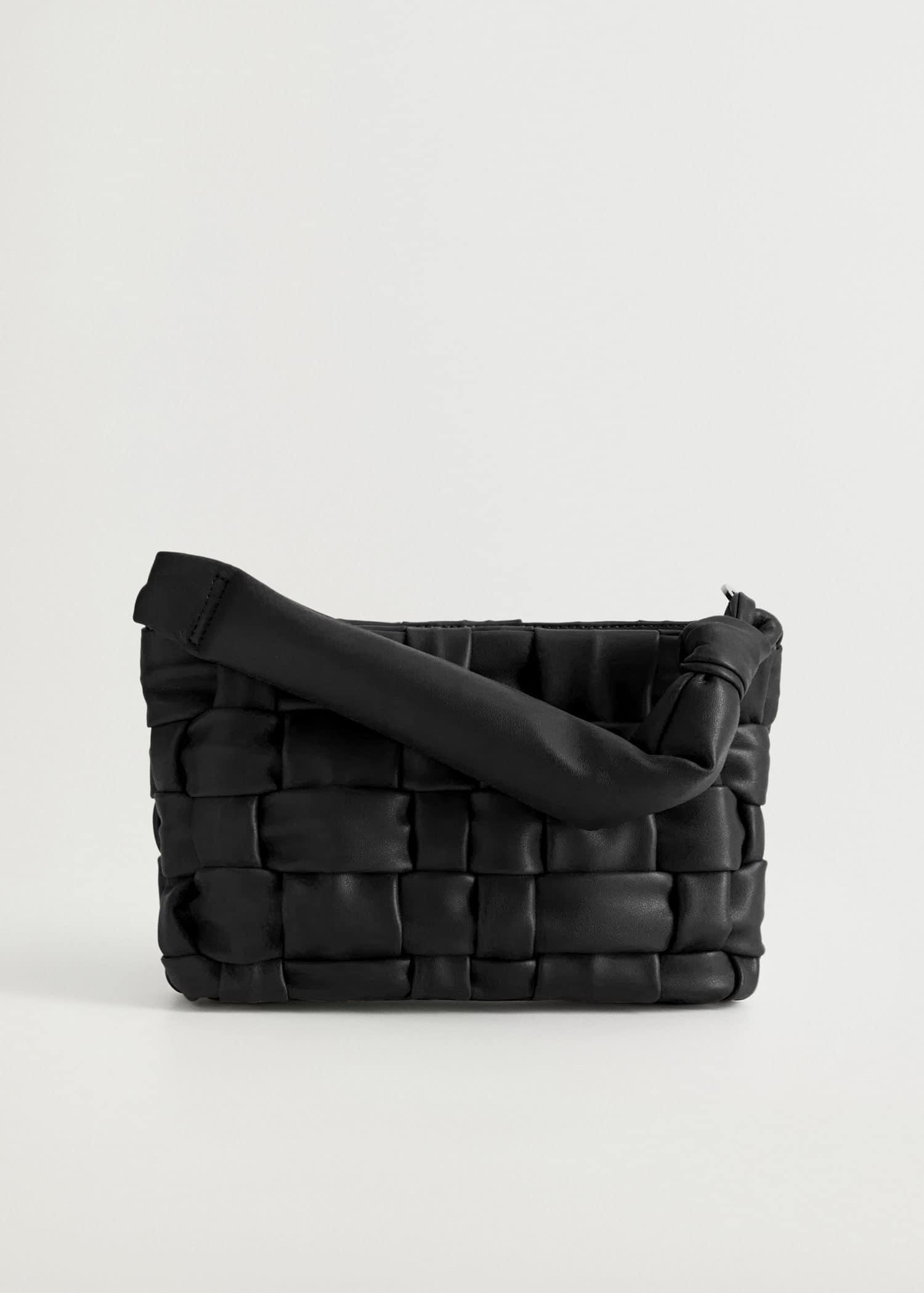 Flettet veske design Damer | Mango Norge