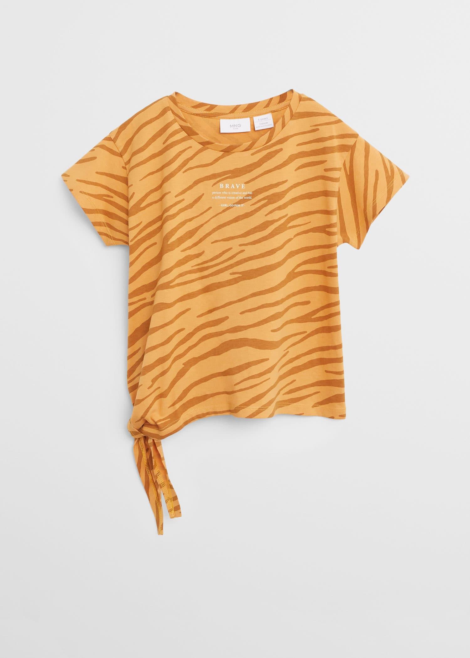 T shirts pour Fille 2020 | Mango Kids France