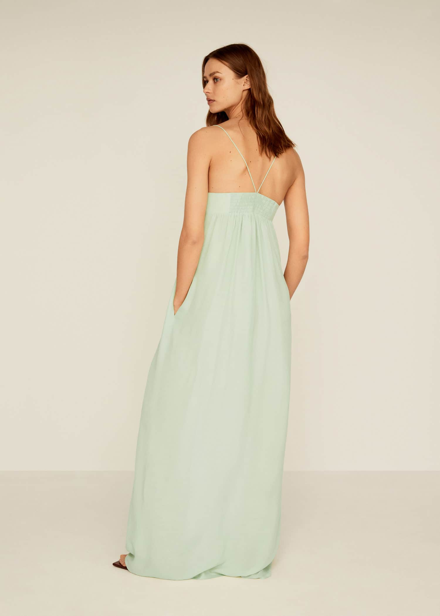 long kleid with hoch slits