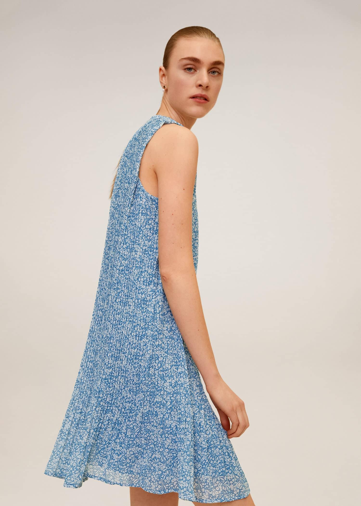 Kjole med sløyfe i ryggen KJOLER JENTE BARN PROMOTIONS