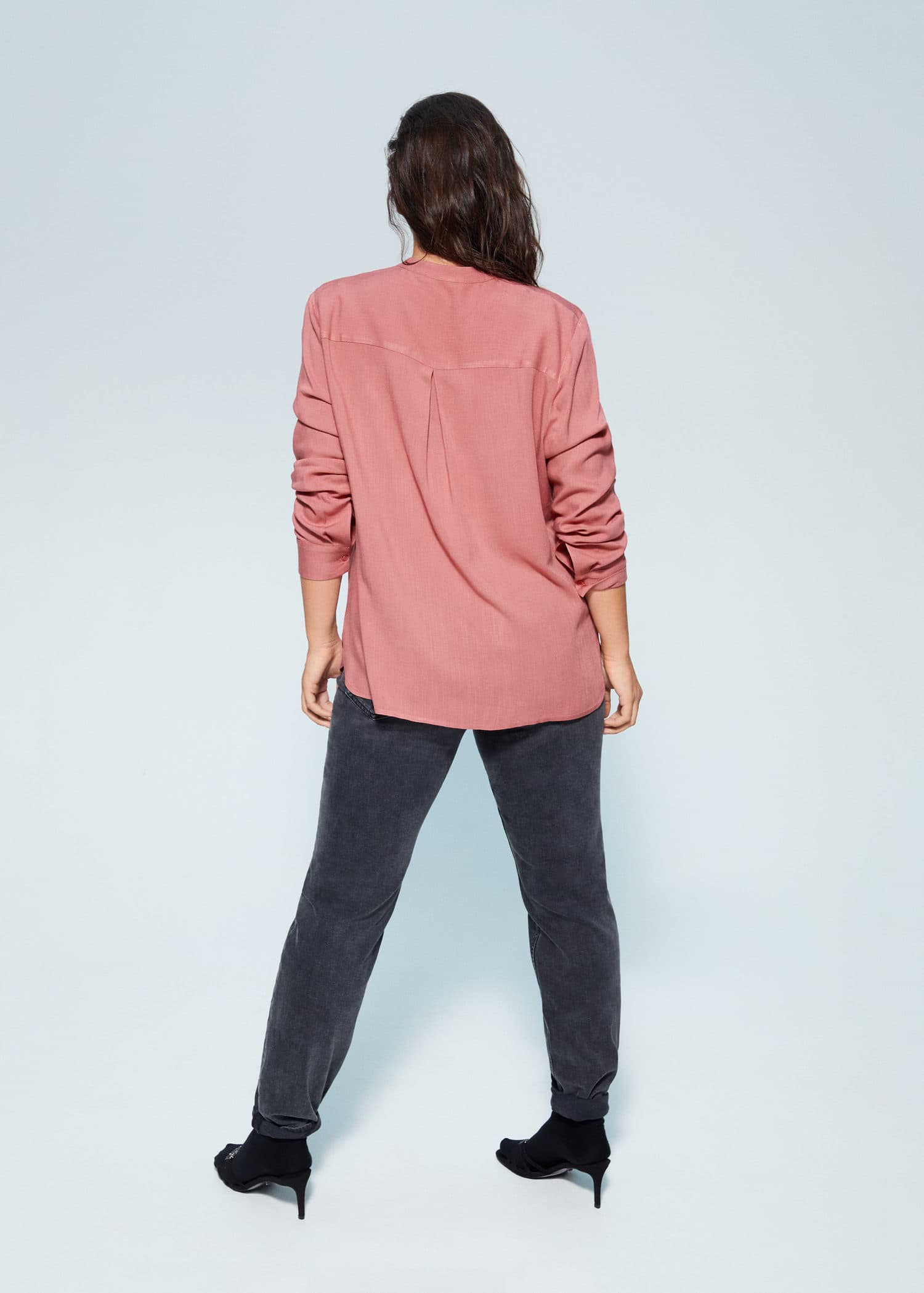 Camisas Tallas grandes 2019   Violeta by Mango USA