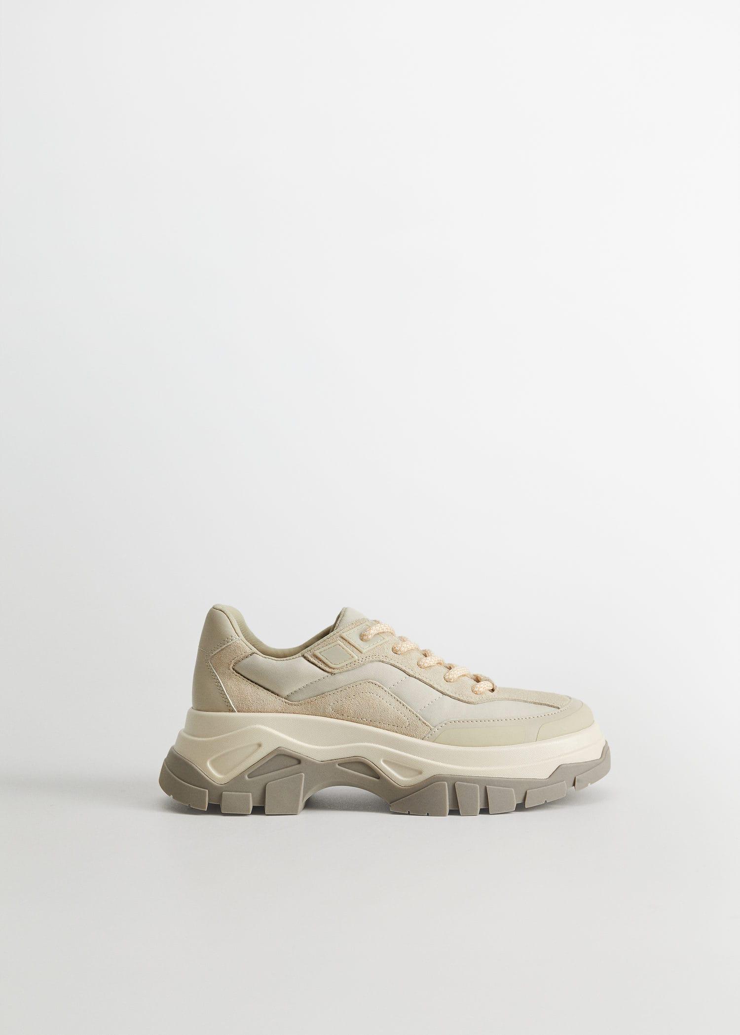 Maxi sole sneakers - Woman | Mango