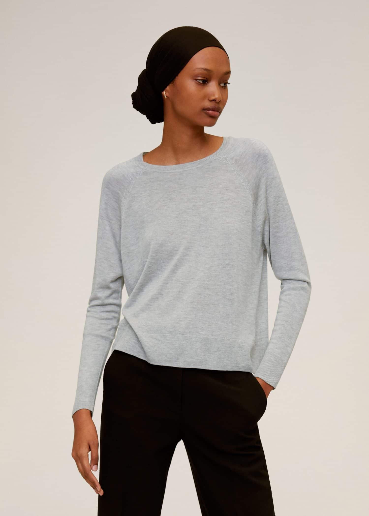 Fine knit sweater Woman | Mango Kosovo
