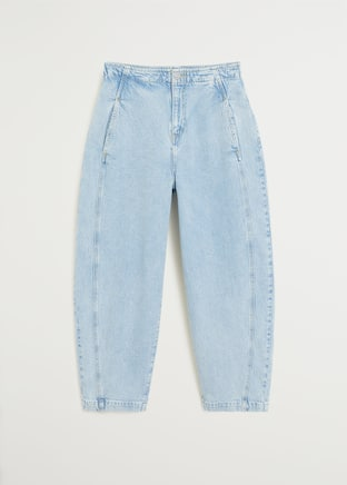 Light wash Balloon Jeans - Article without model
